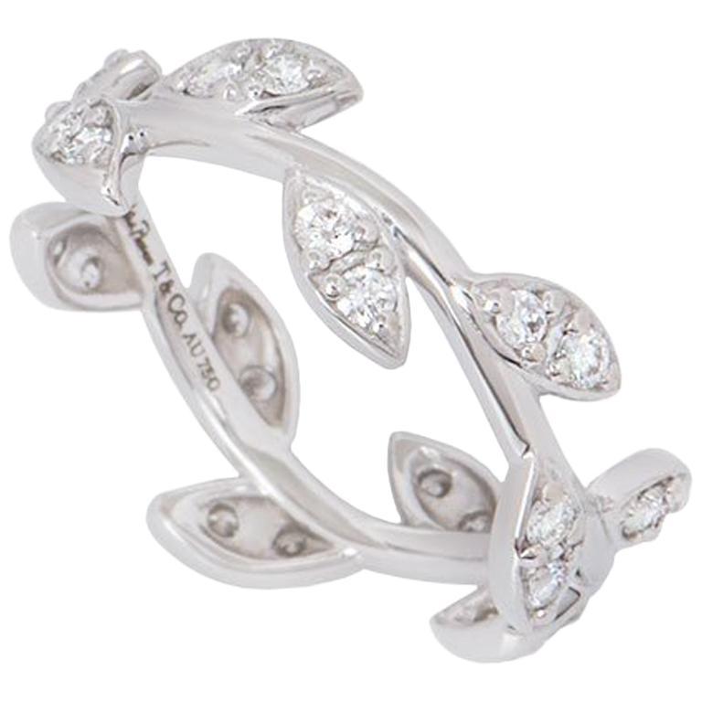 7c2ce44b5dcc9 Tiffany & Co. Diamond Olive Leaf Paloma Picasso Ring