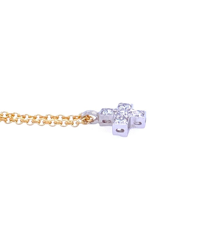 Round Cut Tiffany & Co. Diamond Pendant