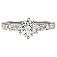 Tiffany & Co. Diamond Platinum Engagement Ring