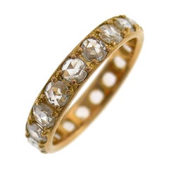 Tiffany & Co. Diamond Rose Gold Eternity Band Ring