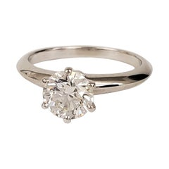 Tiffany & Co. Diamond Solitaire Engagement Ring