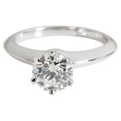 Tiffany & Co. Diamond Solitaire Engagement Ring in Platinum I VS1 1.18 CTW