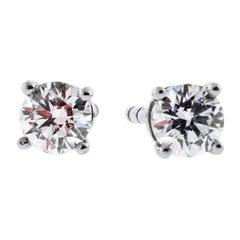 Tiffany & Co. Diamond Stud Earrings