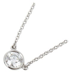 Tiffany & Co. Diamonds by the Yard 0.35 Carat Pendant Necklace