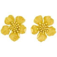 Tiffany & Co. Dogwood Earrings