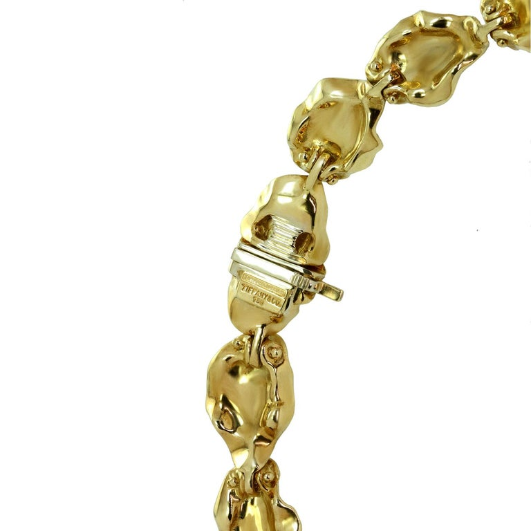 Tiffany & Co. Dogwood Flower Diamond Yellow Gold Necklace and Earring Set For Sale 3