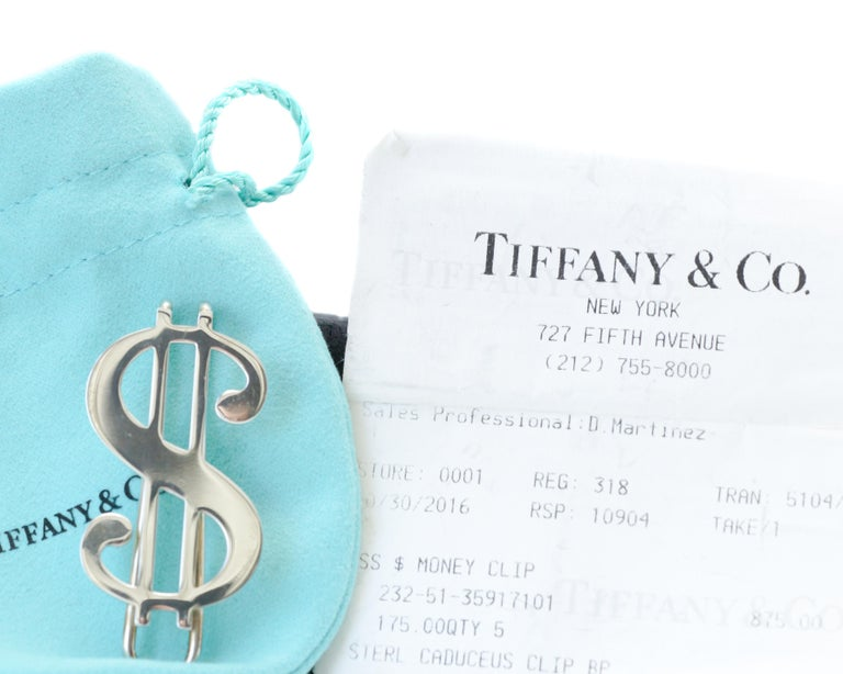 Tiffany & Co. Dollar Sign Money Clip 8