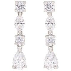 Tiffany & Co. Drop Jazz Diamond Earrings