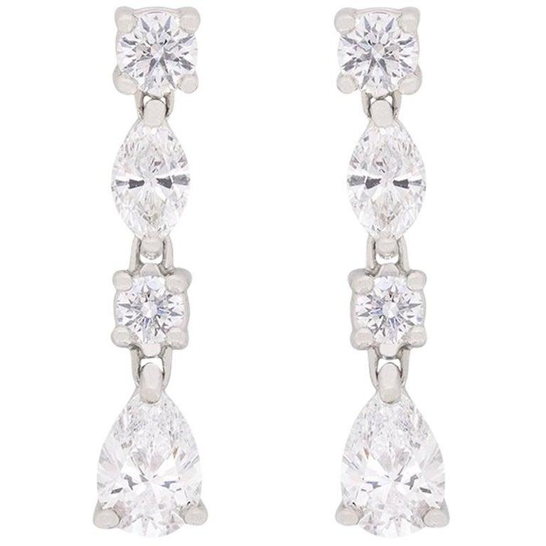 c3aedea0a8c2d Tiffany & Co. Drop Jazz Diamond Earrings