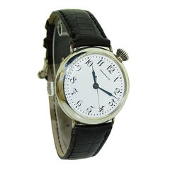 Tiffany & Co. Military Campaign Style with Rare Sweeps Seconds Hand from 1915