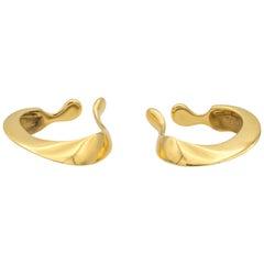 Tiffany & Co. Elsa Peretti cuff earrings in 18 Karat yellow gold
