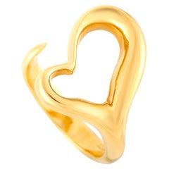 Tiffany & Co. Elsa Peretti 18 Karat Yellow Gold Heart Ring