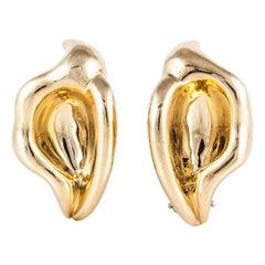 Tiffany & Co. Elsa Peretti Calla Lilly Earrings