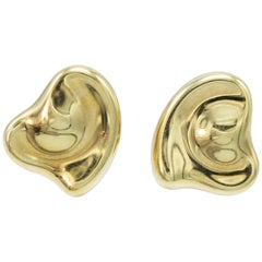 Tiffany & Co., Elsa Peretti Design Heart Clip-On Earrings