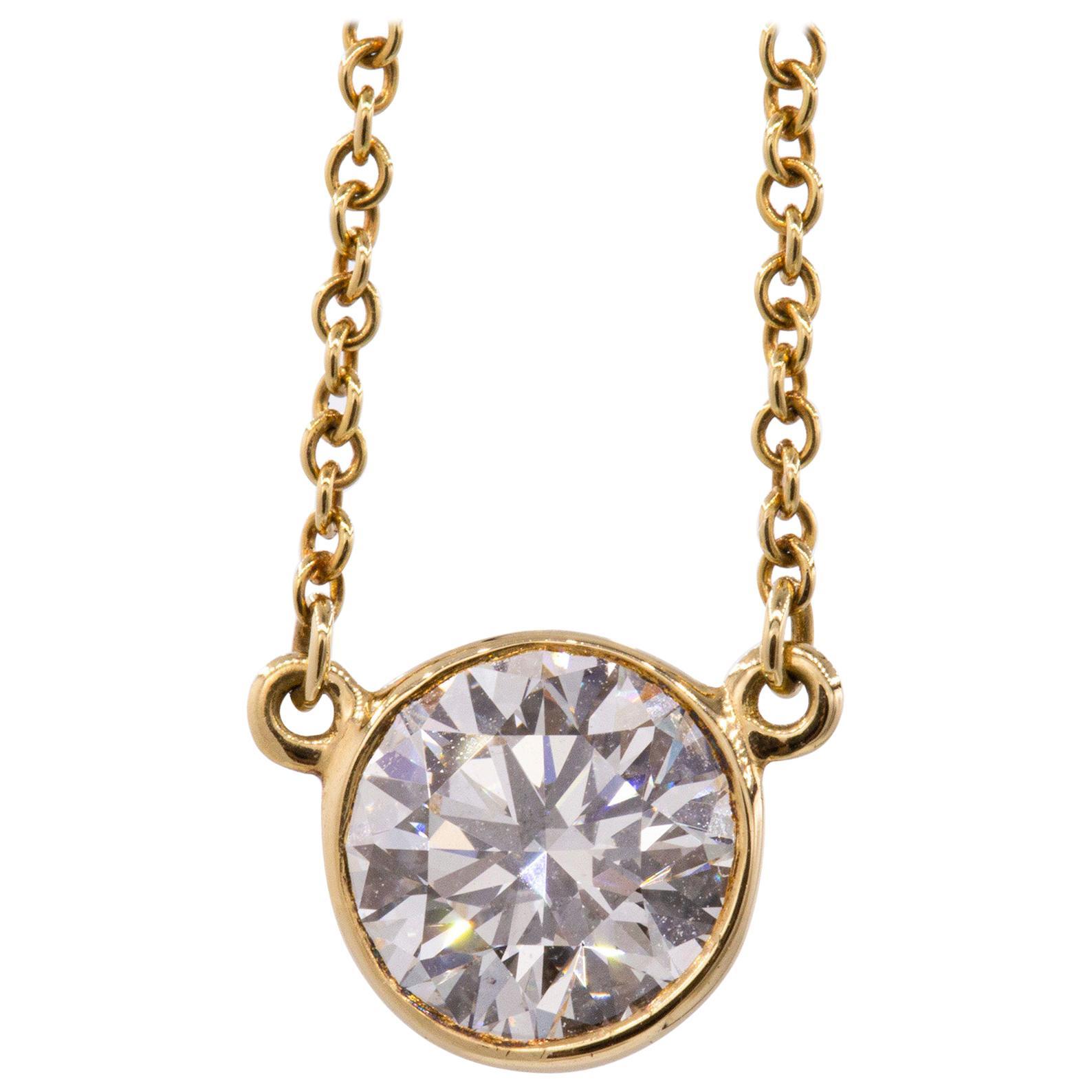 Tiffany & Co Elsa Peretti Diamond Pendant