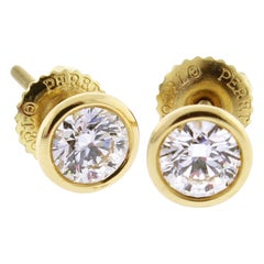 Tiffany & Co. Elsa Peretti Diamonds by the Yard Stud Earrings