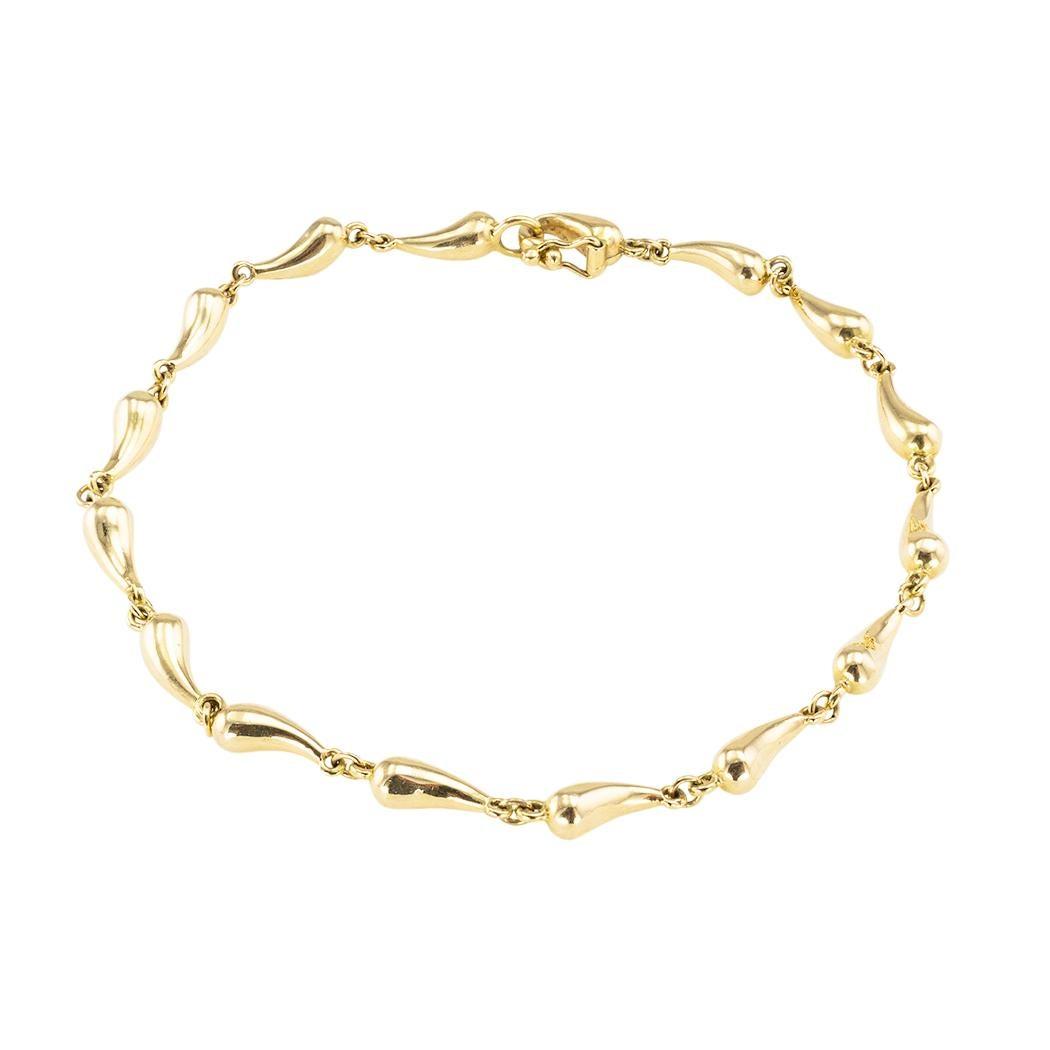 Tiffany & Co Elsa Peretti Gold Link Bracelet