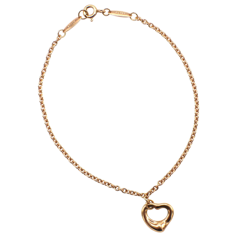 Tiffany & Co. Elsa Peretti Open Heart Rose Gold Bracelet