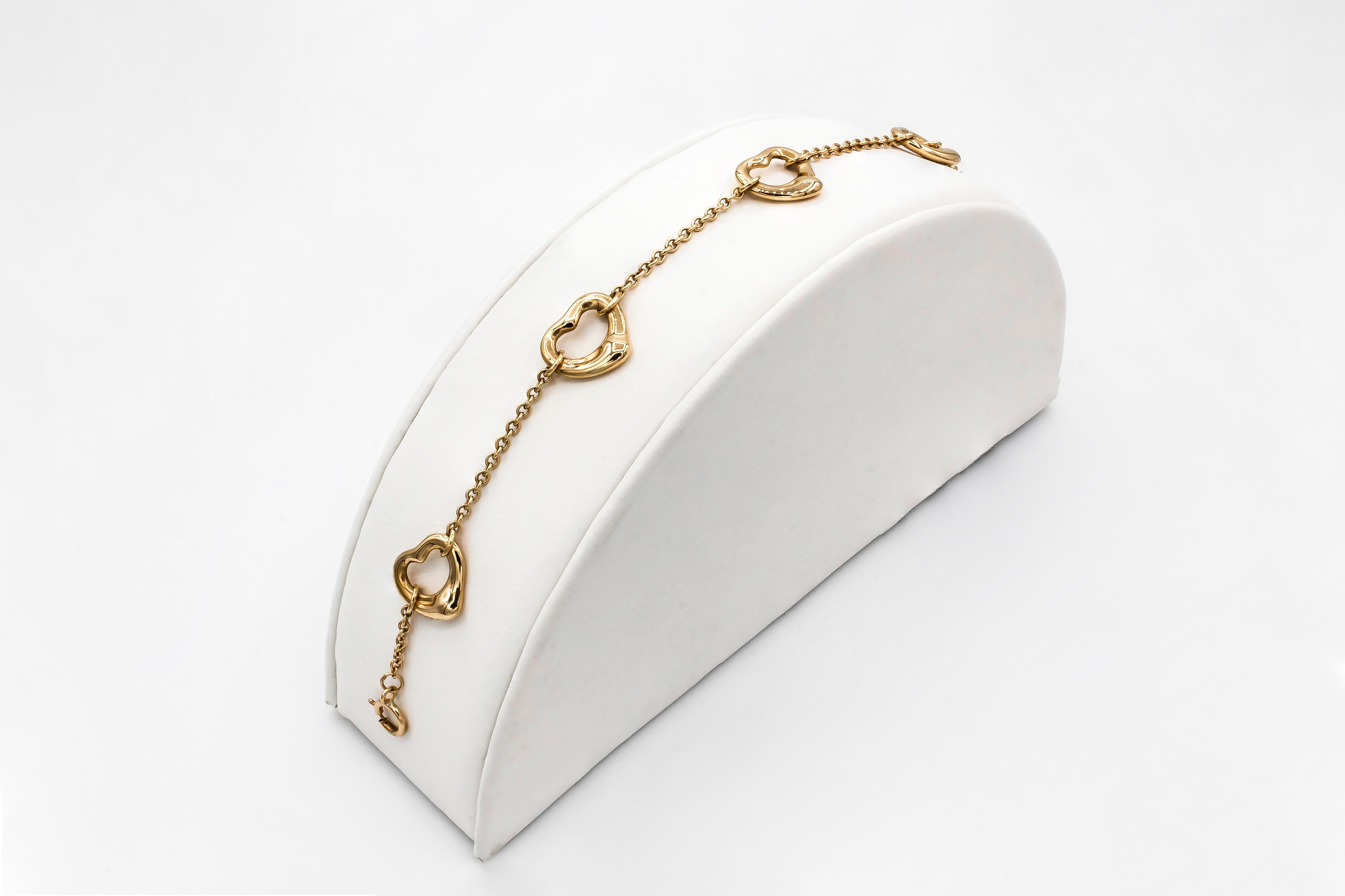 Peretti Bracelet Open Rose CoElsa Heart Tiffanyamp; Gold reBoCdx