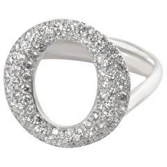 Tiffany & Co. Elsa Peretti Sevillana Diamond Ring in Platinum 0.8 Carat