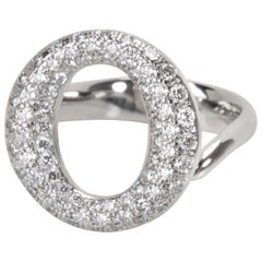 Tiffany & Co. Elsa Peretti Sevillana Diamond Ring in Platinum 0.80 Carat