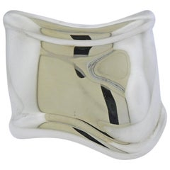 Tiffany & Co. Elsa Peretti Silver Bone Cuff Bracelet