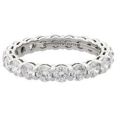Tiffany & Co. Embrace Diamond Platinum Eternity Band 1.80 Carat