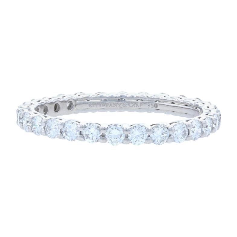 Tiffany & Co. Embrace Eternity Diamond Band Platinum .85ctw Wedding Ring