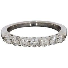 Tiffany & Co. Embrace Platinum 0.57 Carat Round Diamond Wedding Band