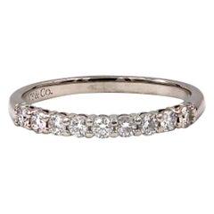 Tiffany & Co. Embrace Platinum Diamond Band
