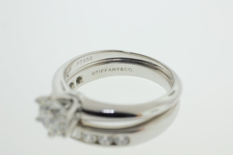 Tiffany & Co. Engagement Ring Set For Sale 2