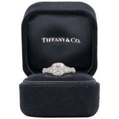 Tiffany Legacy® Engagement Ring with a 1.18 Carat Cushion-cut D VVS1 GIA