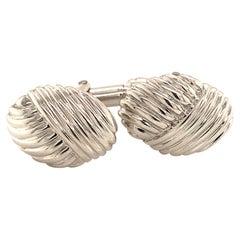 Tiffany & Co. Estate Cufflinks Sterling Silver 8.82 Grams