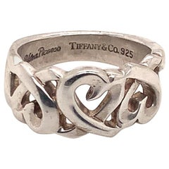 Tiffany & Co. Estate Ring Sterling Silver