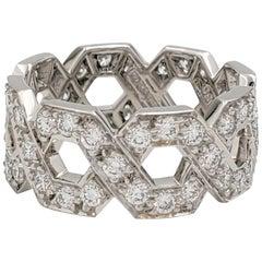 Tiffany & Co. 'Eternal Link' Platinum Diamond Band