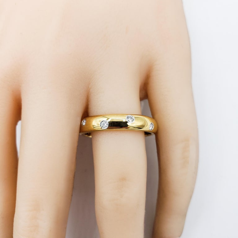 Tiffany & Co. Etiole Band Ring in Yellow Gold For Sale 1