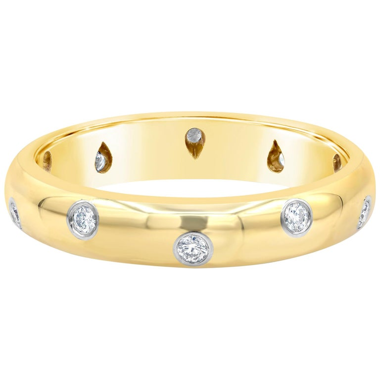 Tiffany & Co. Etiole Band Ring in Yellow Gold For Sale