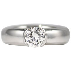 Tiffany & Co. Etoile 0.75 Carat Brilliant Round Solitaire Engagement Ring
