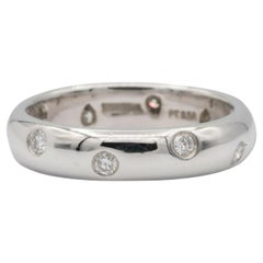 Tiffany & Co Etoile Band Ring .22ct in Platinum