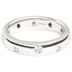 Tiffany & Co. Etoile Diamond Band in Platinum 0.25 Carat