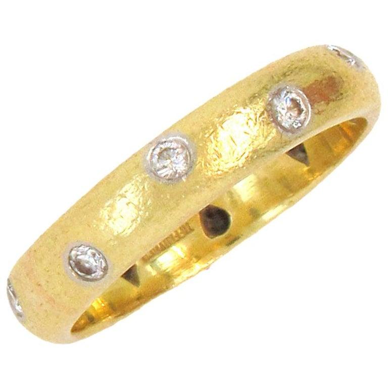 Tiffany & Co. Etoile Diamond Band Ring For Sale