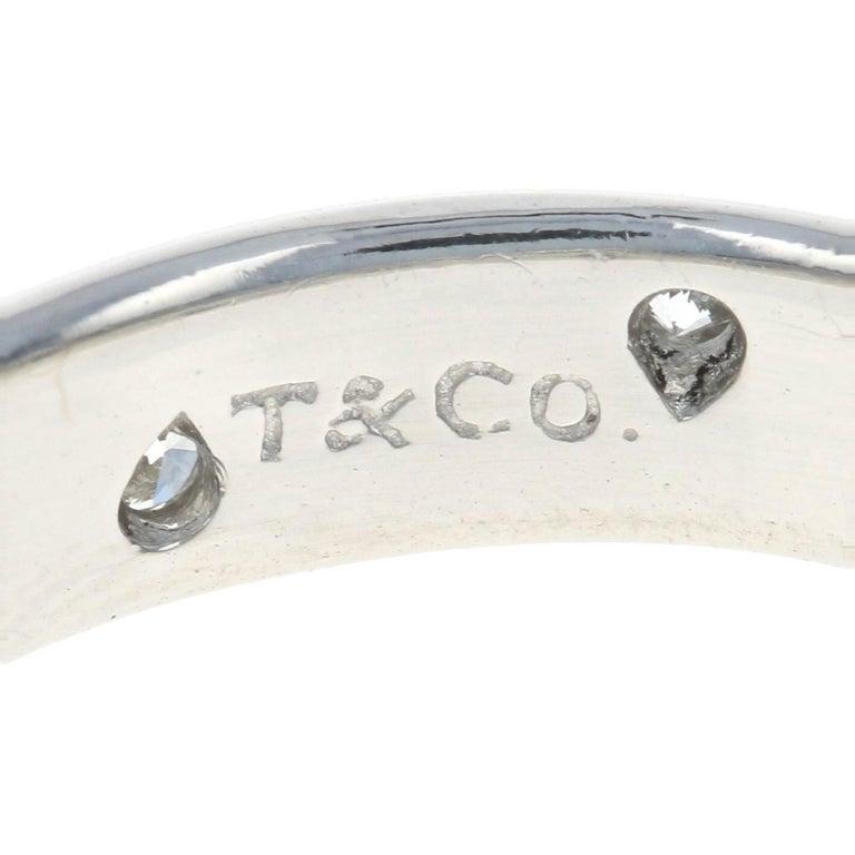 Tiffany & Co. Etoile Diamond Eternity Band Platinum Round .22 Carat Wedding Ring For Sale 1