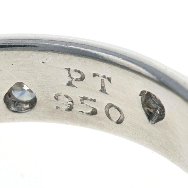 Tiffany & Co. Etoile Diamond Eternity Band Platinum Round .22 Carat Wedding Ring For Sale 2