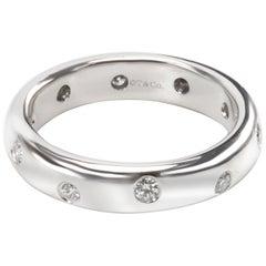Tiffany & Co. Etoile Diamond Fashion Ring in Platinum 0.14 Carat