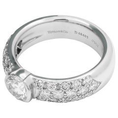Tiffany & Co. Etoile Engagement Ring