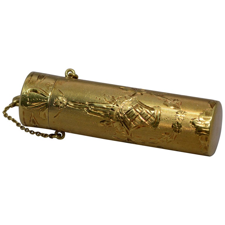 Tiffany & Co. Fancy Gold Object 14 Karat Yellow Gold For Sale