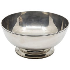 Tiffany & Co. Federal-Style Sterling Silver Footed Bowl