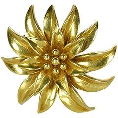 Tiffany & Co. Floral Brooch