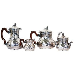 Tiffany & Co., France, circa 1890, French Tea and Coffee Set