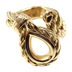 Tiffany & Co. France Yellow Gold Band Ring